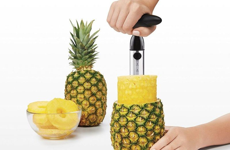 Coupe ananas éplucheur, vide ananas