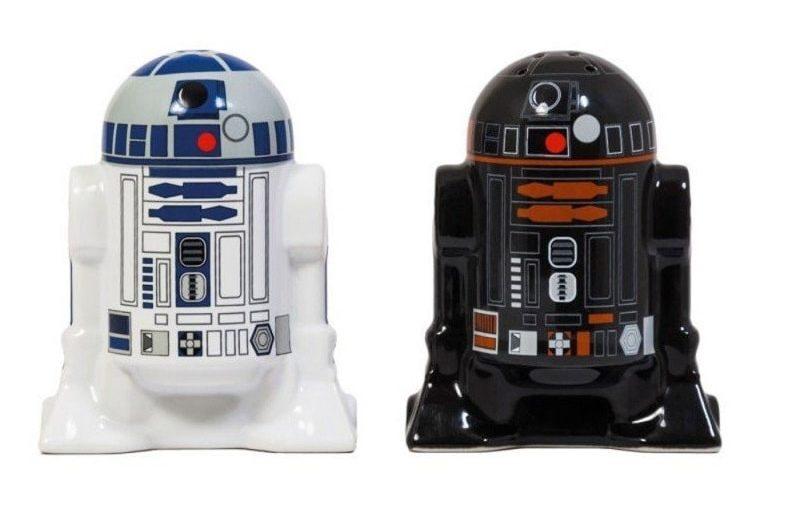 Sel et poivre Star Wars R2-D2 R2-Q5