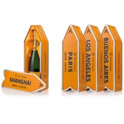 Coffret champagne Veuve Clicquot Arrow