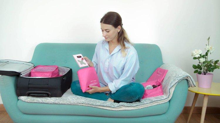 Kit de pochettes valises