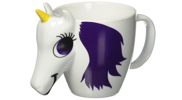 Mug licorne thermoréactif, tasse magique qui change de couleur