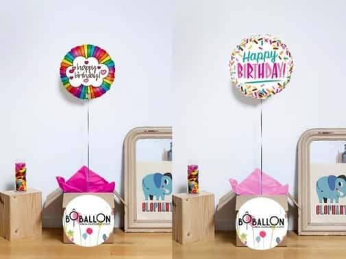 Ballons d'anniversaire Bôballon