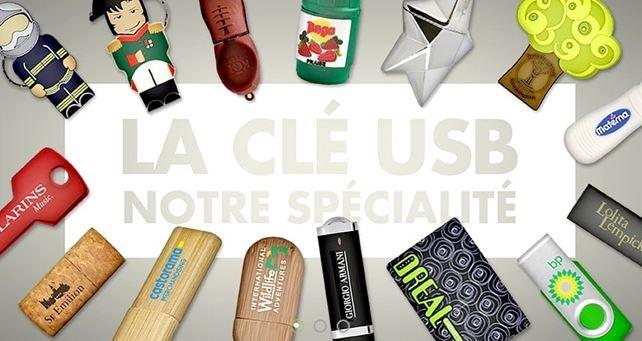 Clé USB, cadeau publicitaire d'entreprise