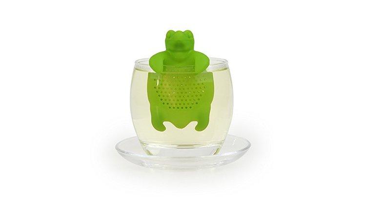 Infuseur à thé en forme de tortue en silicone