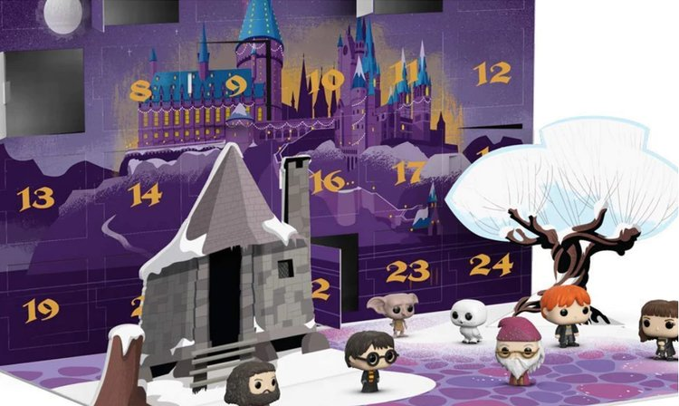 Calendrier De Lavent Harry Potter Funko Pop.Calendrier De L Avent Harry Potter Special Noel Funko Pop