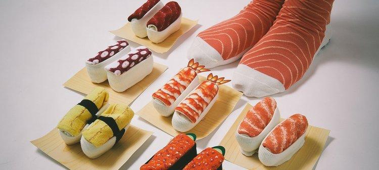 Chaussettes sushi & maki
