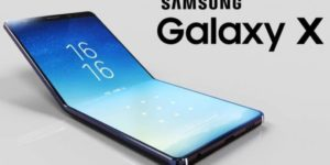 Smartphone pliable Samsung Galaxy X