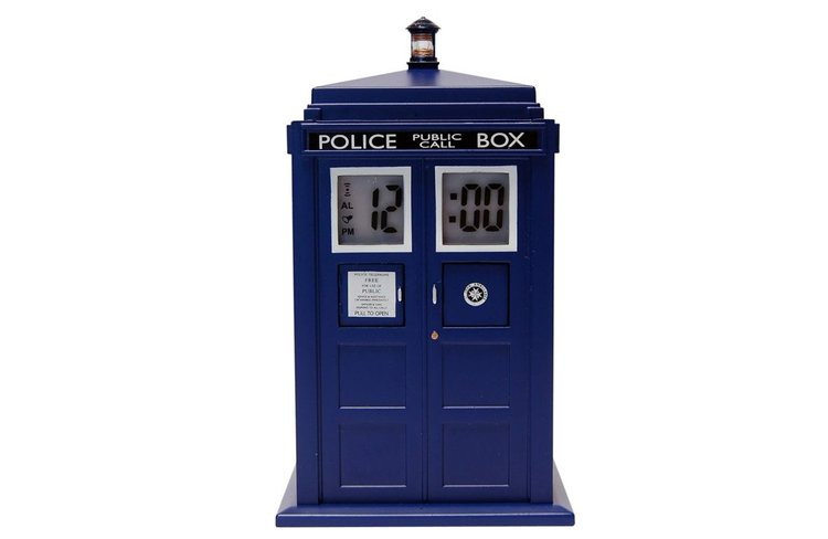 Réveil à projection Doctor Who