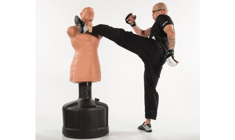 Buste de frappe mannequin punching ball