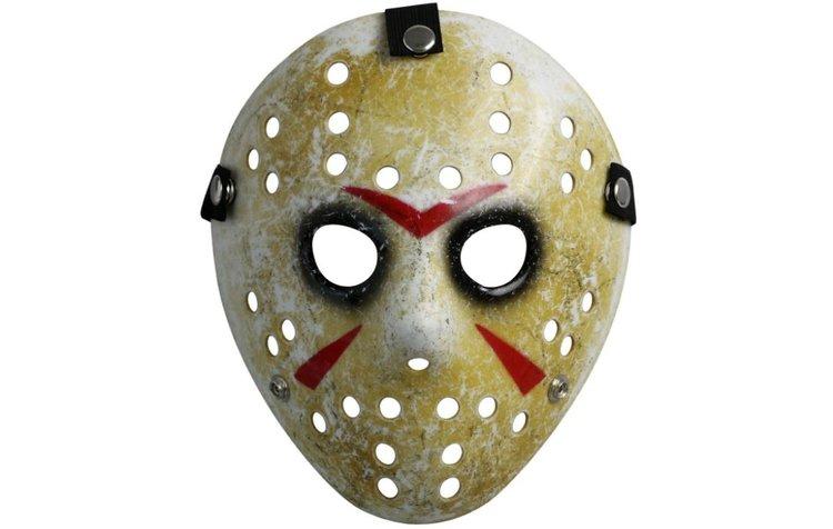 Masque de Jason dans Vendredi 13 pour un déguisement Halloween