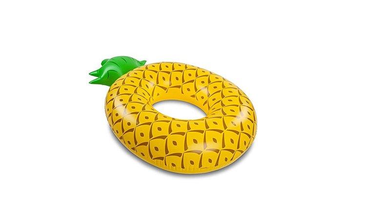 Bouée gonflable ananas géante format XXL