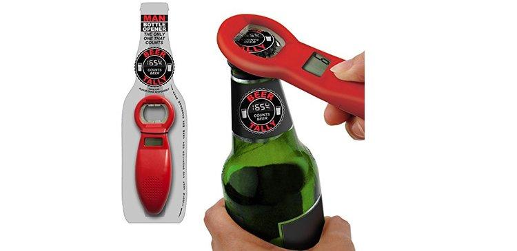 Décapsuleur original compteur de bières, ouvre-bouteilles